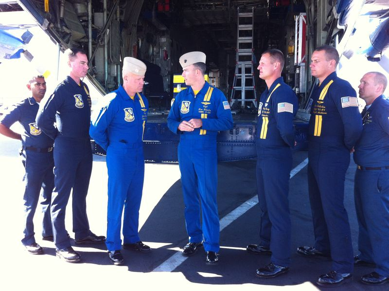 Blue Angels crew